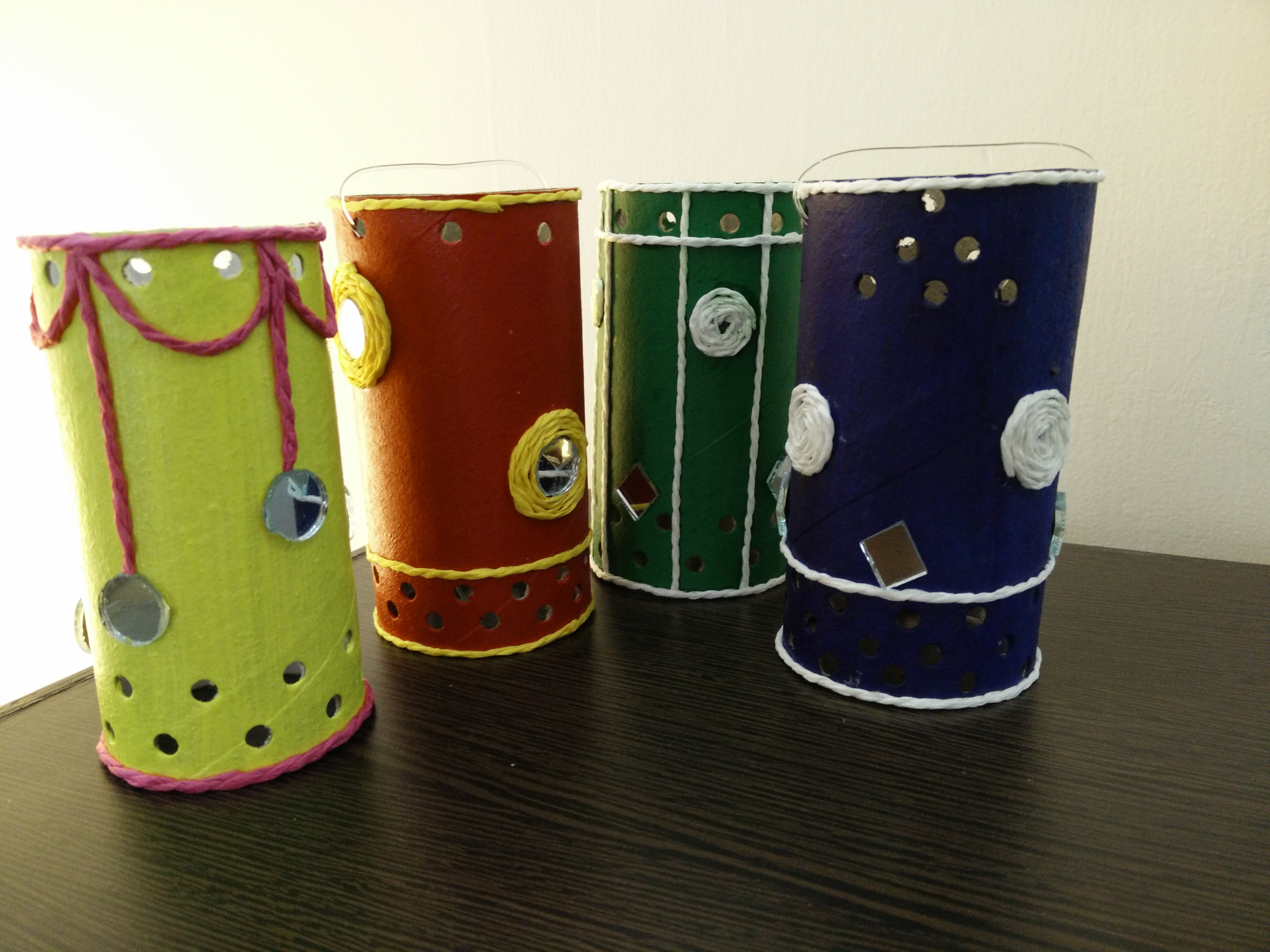 Art And Craft Projects Upcycled Waste Material Homeprettifiers