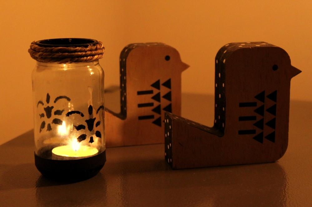 The Dancing Shadows - Candleholder