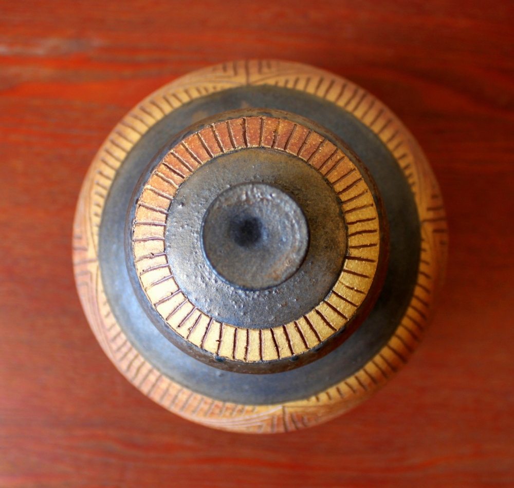 Golden Urn Top View